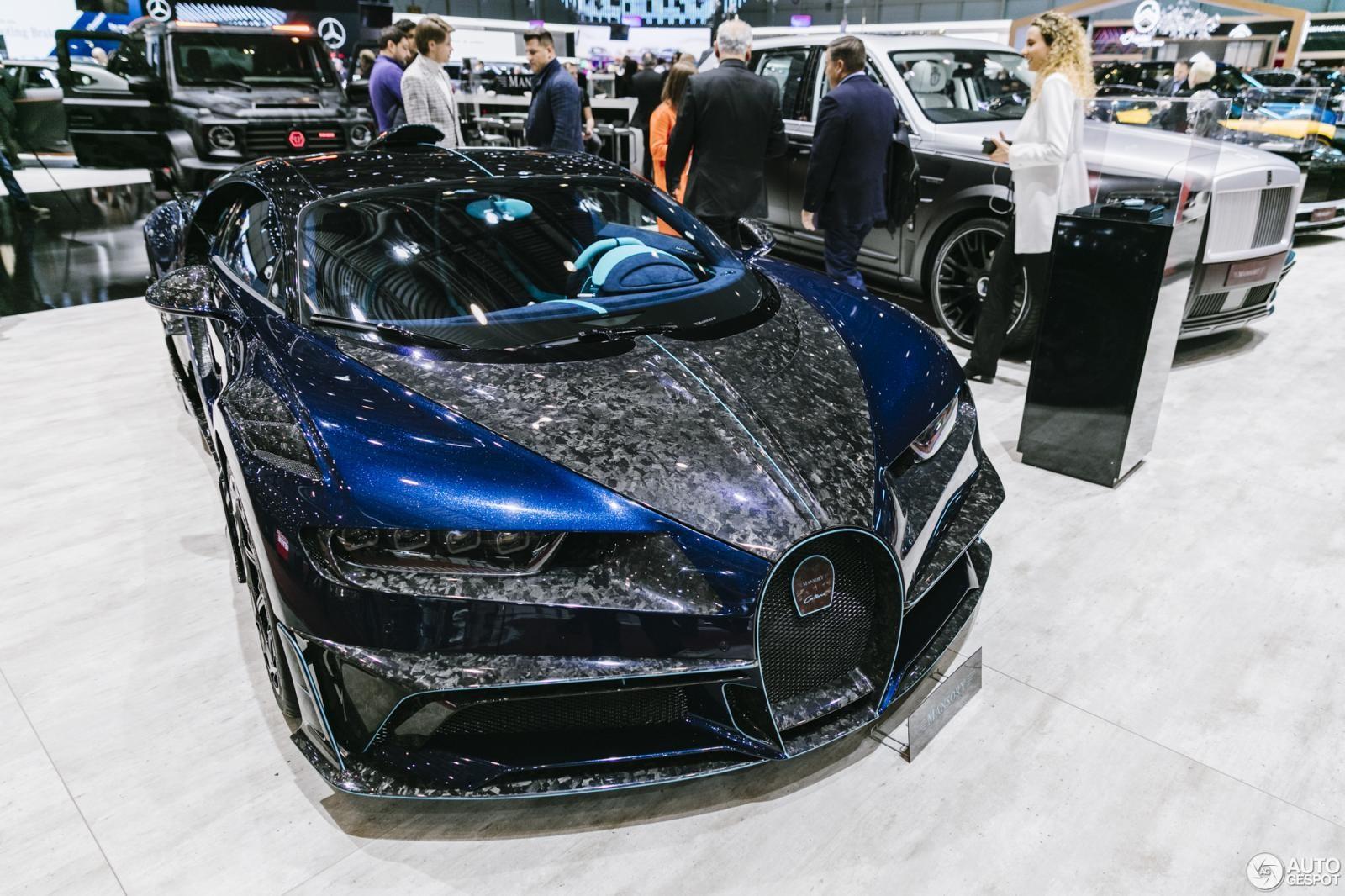 Bugatti Chiron Centuria độ rất ấn tượng của Mansory