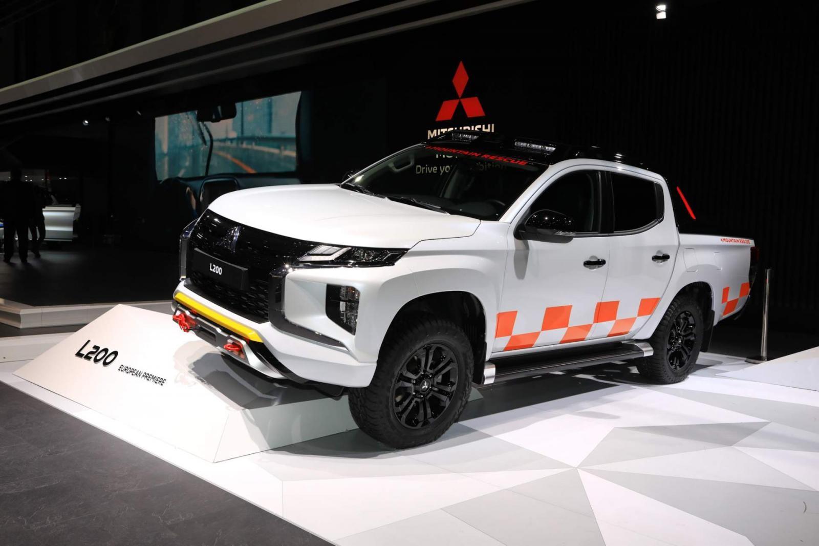 Mitsubishi L200 (Triton) 2019 đã chính thức được ra mắt tại thị trường Châu Âu trong khuôn khổ triển lãm Geneva Motor Show 2019