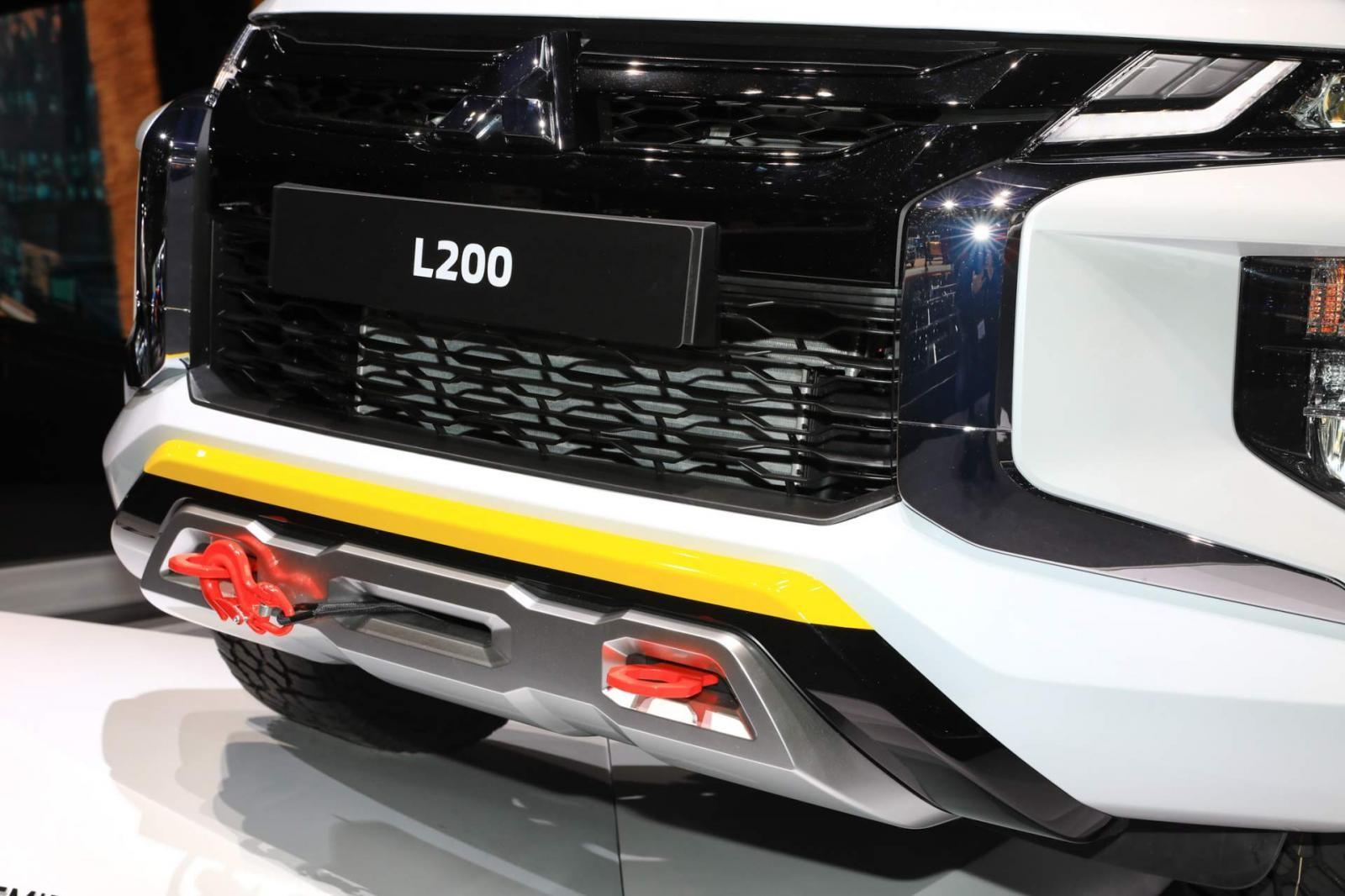 Tuy chỉ có dung tích là 2.0L nhưng với hệ thống tăng áp, Mitsubishi Triton tại trời Âu sẽ có khả năng vận hành ấn tượng hơn ở thị trường Việt