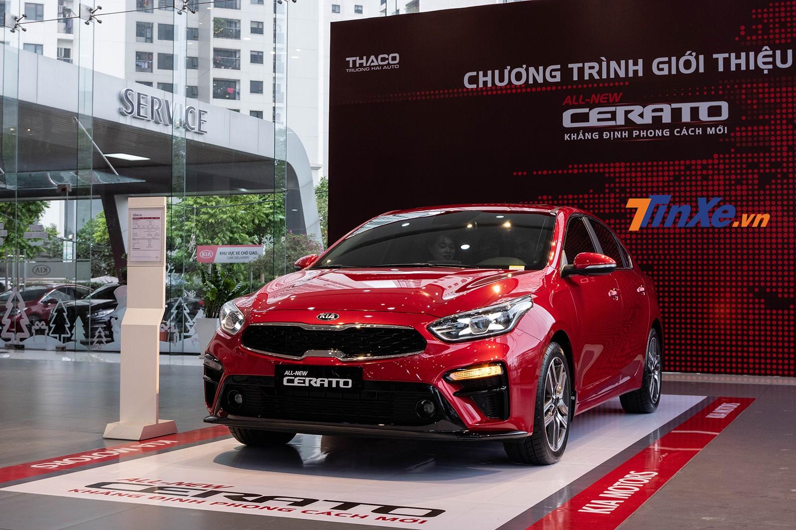 Thiết kế đầu xe của Kia Cerato 2019 tại Việt Nam