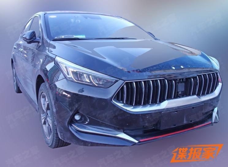 Thiết kế đầu xe hoàn toàn mới của Kia K3 2019 dành cho Trung Quốc