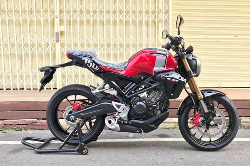 Mẫu Honda CB150R Streetster mang dáng vẻ đẹp và chắc chắn hơn
