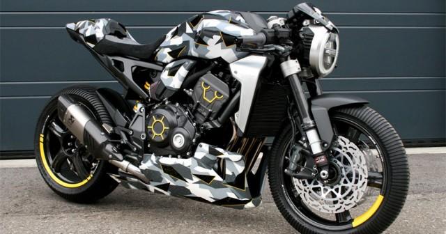 bản độ Honda CB1000R 2019 Camo
