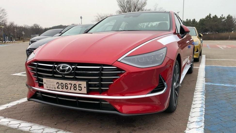 Hyundai Sonata 2020 bị bắt gặp chạy thử tại Hàn Quốc