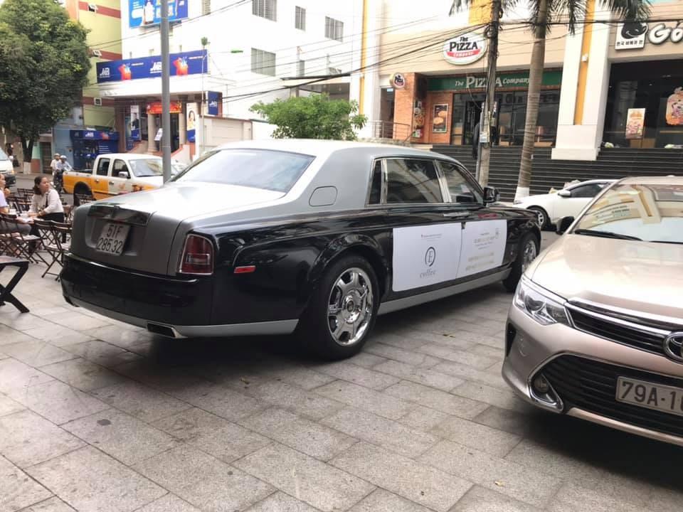 Rolls-Royce Phantom của ông Đặng Lê Nguyên Vũ