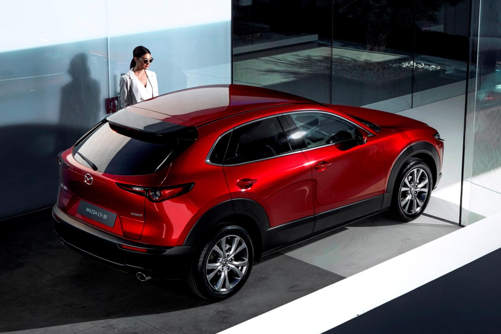 Mazda CX-30 là mẫu xe nhắm tới nhóm khách hàng là những cô gái trẻ độc thân