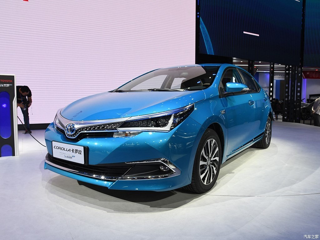 Toyota Corolla PHEV ra mắt trong triển lãm Ô tô Quảng Châu 2018