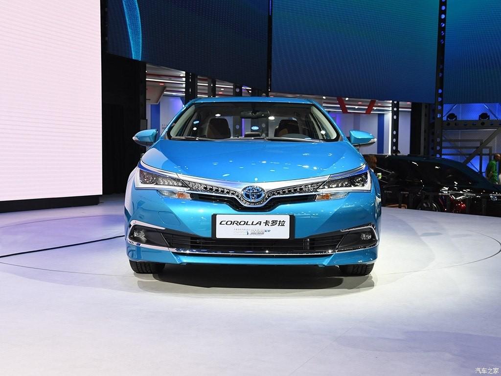 Cận cảnh thiết kế đầu xe của Toyota Corolla PHEV 2019