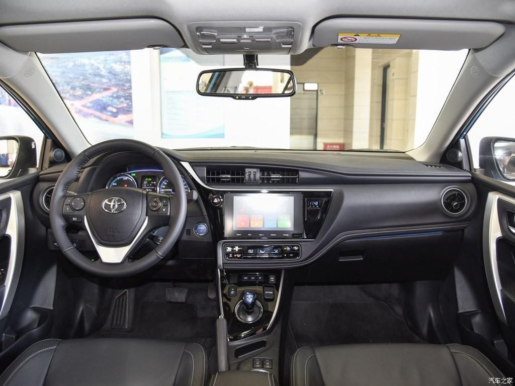 Nội thất bên trong Toyota Corolla PHEV 2019