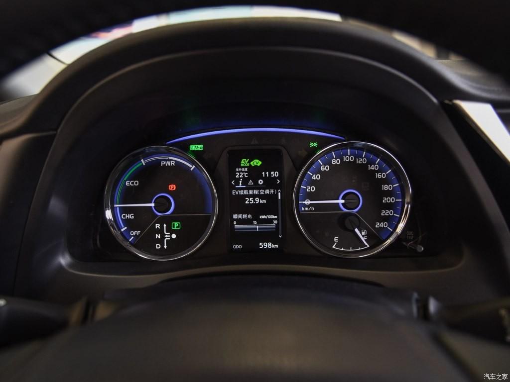 Bảng đồng hồ của Toyota Corolla PHEV 2019