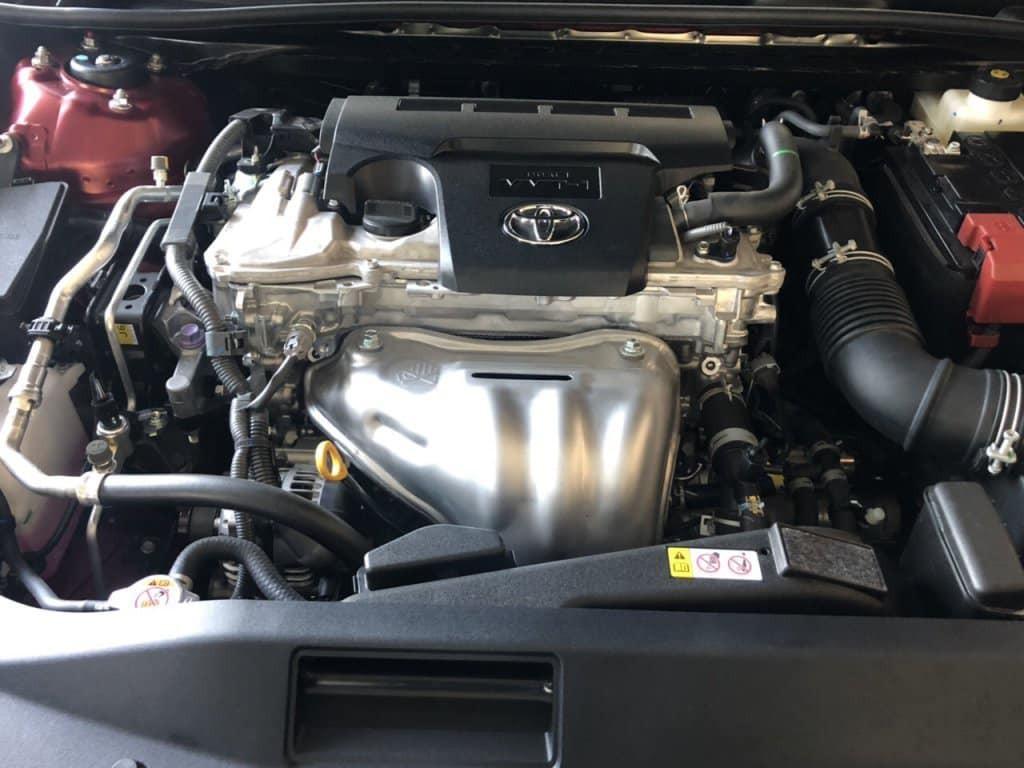 Động cơ của Toyota Camry 2019