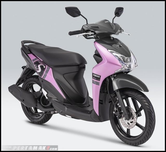 Yamaha Mio S 2019 màu hồng