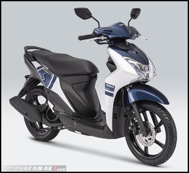 Yamaha Mio S 2019 màu trắng xanh