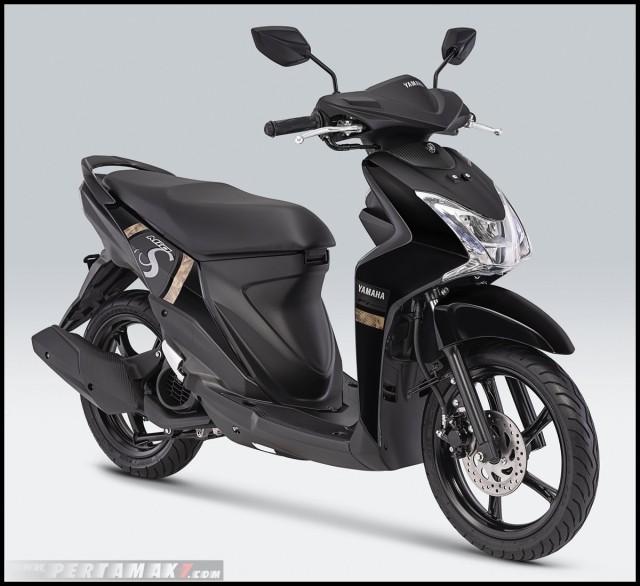 Yamaha Mio S 2019 màu đen