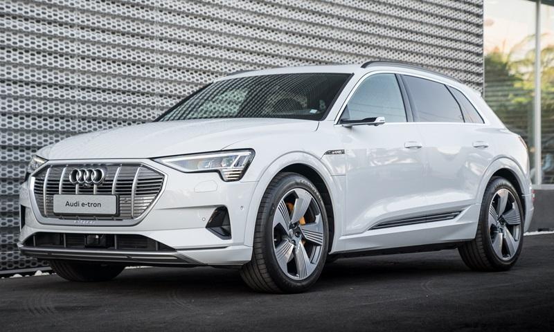 Audi e-tron 2019 ra mắt thị trường Thái Lan