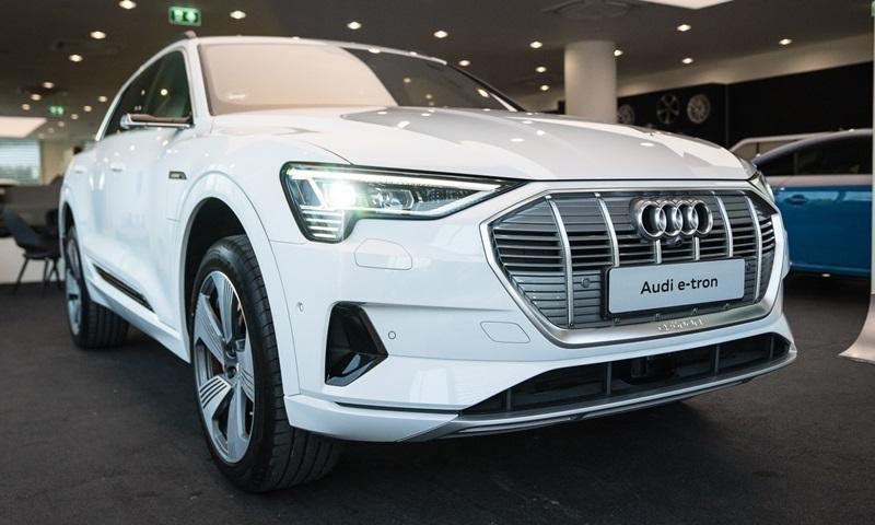 Audi e-tron 2019 tại Thái Lan thuộc bản 55 quattro