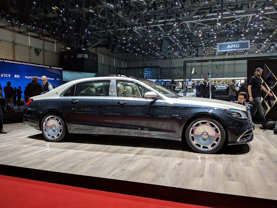 Mercedes-Maybach S-Class 2019 trong triển lãm Ô tô Geneva năm ngoái