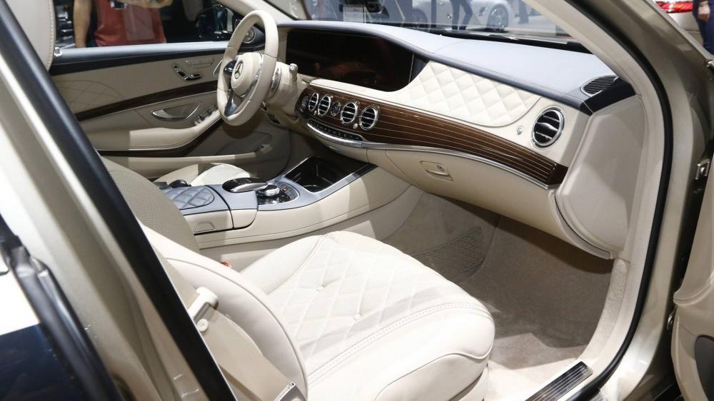 Nội thất bên trong Mercedes-Maybach S-Class 2019