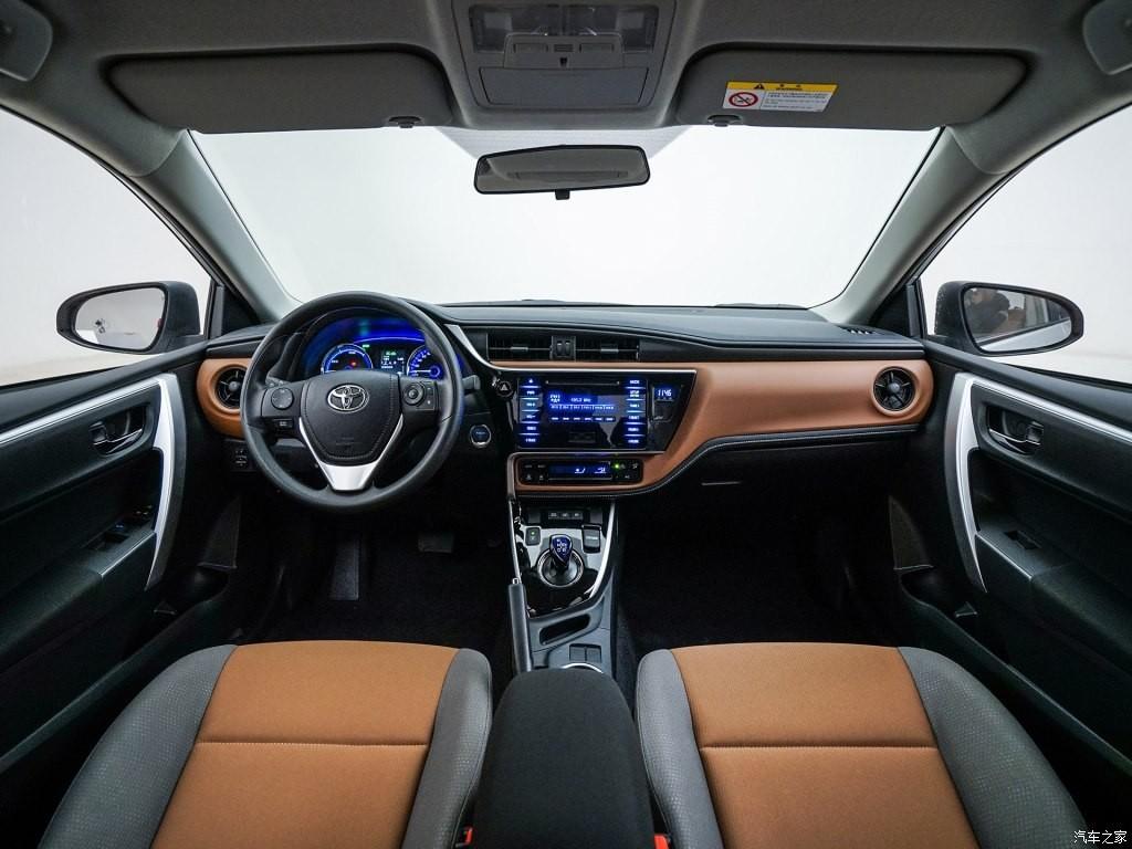 Nội thất bên trong Toyota Levin E+ 2019