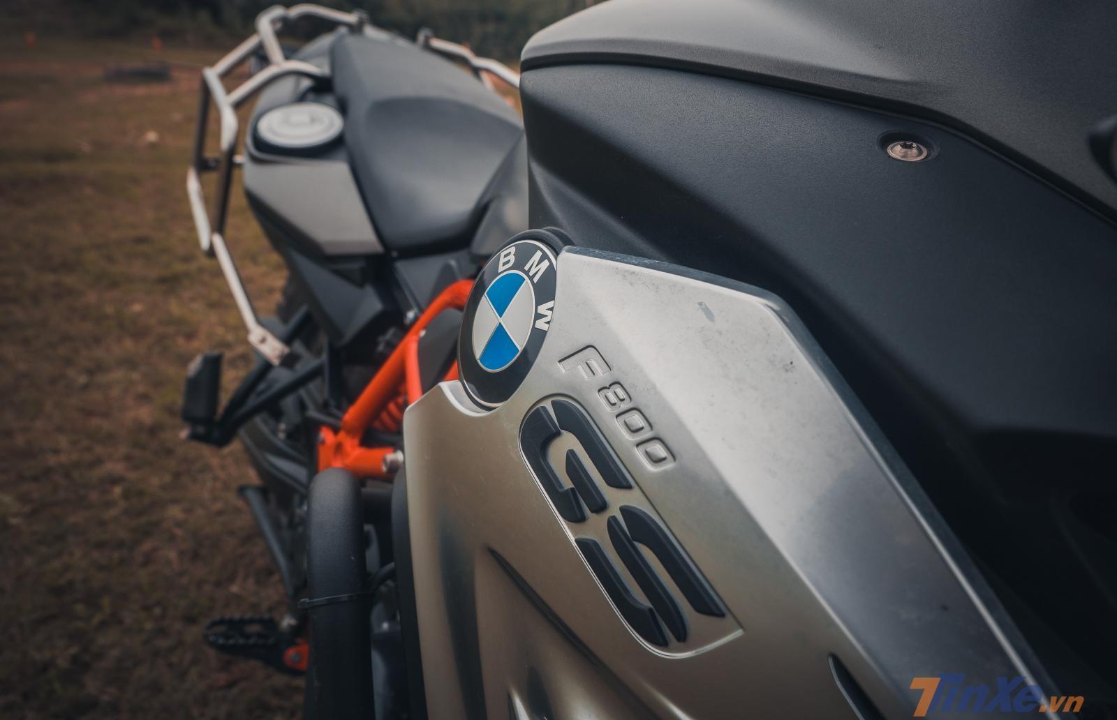 BMW F800GS 2018
