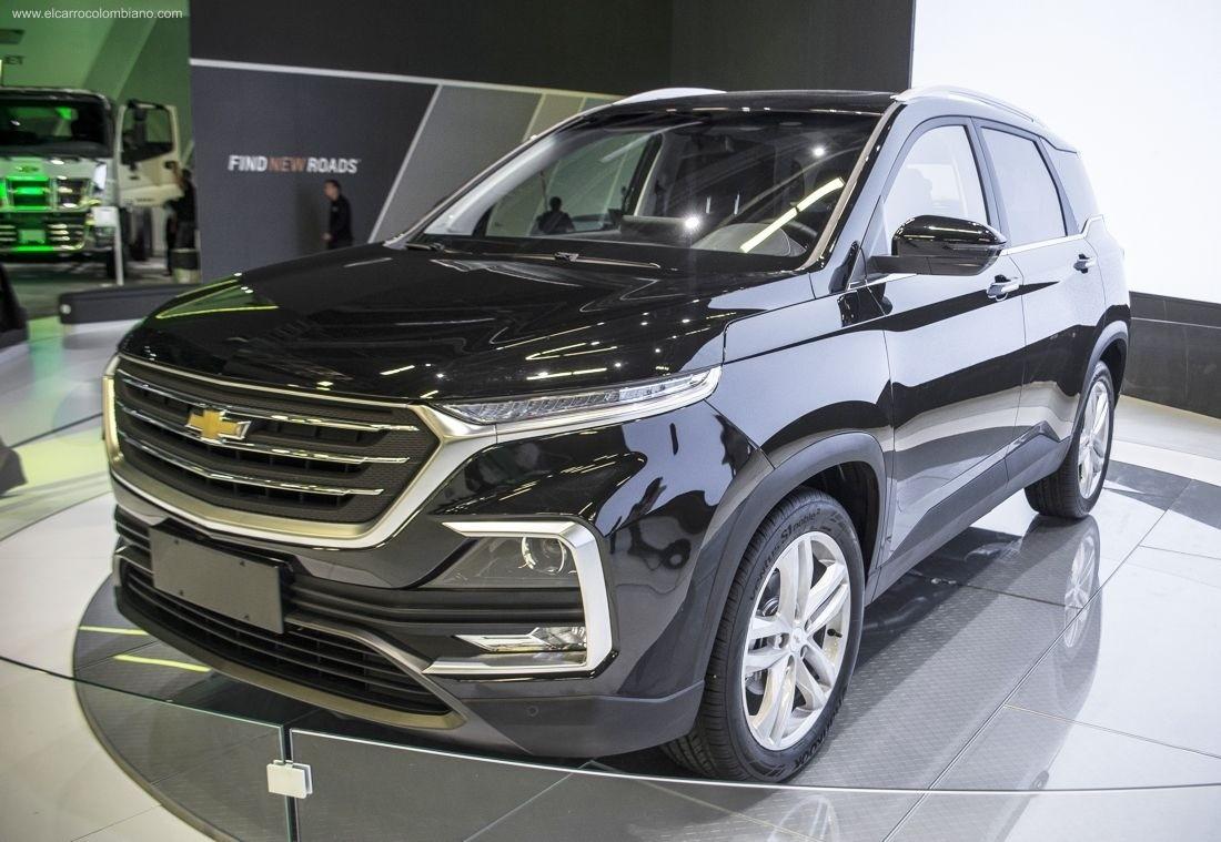 Chevrolet Captiva 2019 được trang bị đèn LED định vị ban ngày