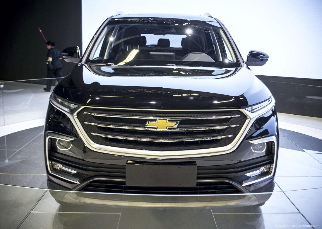 Chevrolet Captiva 2019 có thiết kế đầu xe giống hệt Baojun 530
