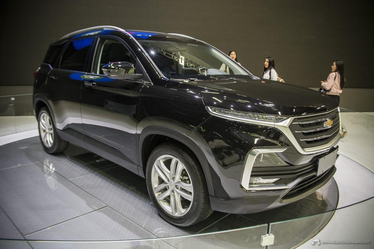 Chevrolet Captiva 2019 dùng động cơ xăng tăng áp 1,5 lít