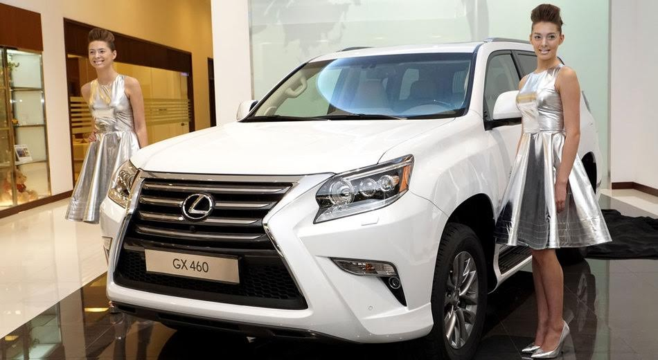 Những chiếc Lexus GX460 bị triệu hồi được sản xuất từ ngày 15/5/2014 - 10/2/2017