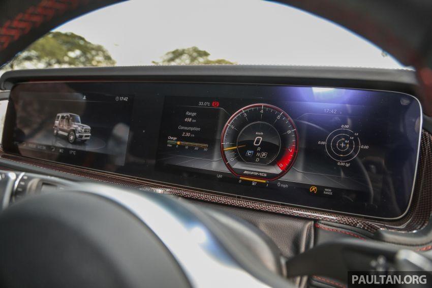 Bảng đồng hồ của Mercedes-AMG G63 2019