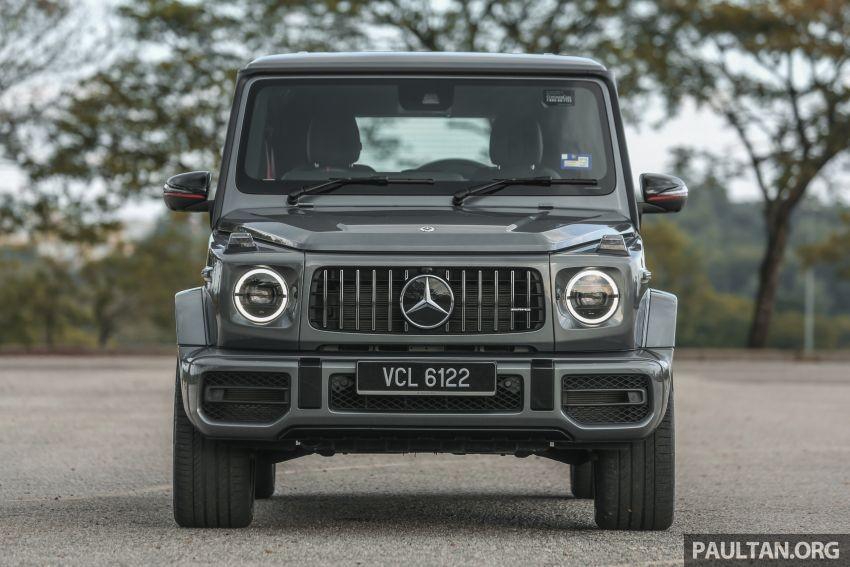 Cận cảnh đầu xe của Mercedes-AMG G63 2019