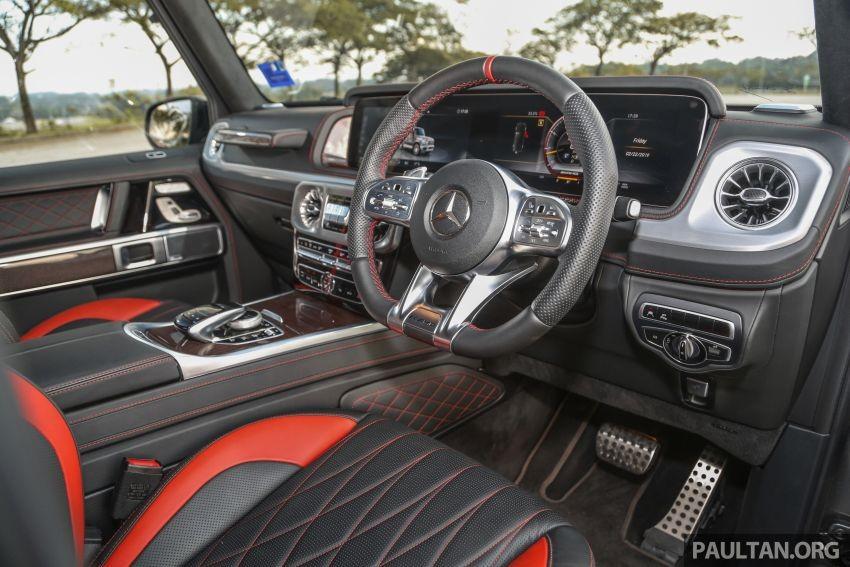 Nội thất bên trong Mercedes-AMG G63 2019
