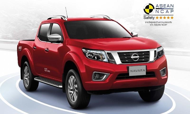 Nissan Navara 2019 ra mắt thị trường Thái Lan với một số thay đổi trong trang bị