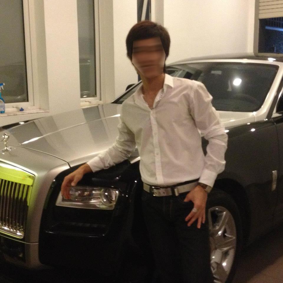 Doanh nhân Vũng Tàu tậu chiếc Rolls-Royce Ghost vào năm 2013