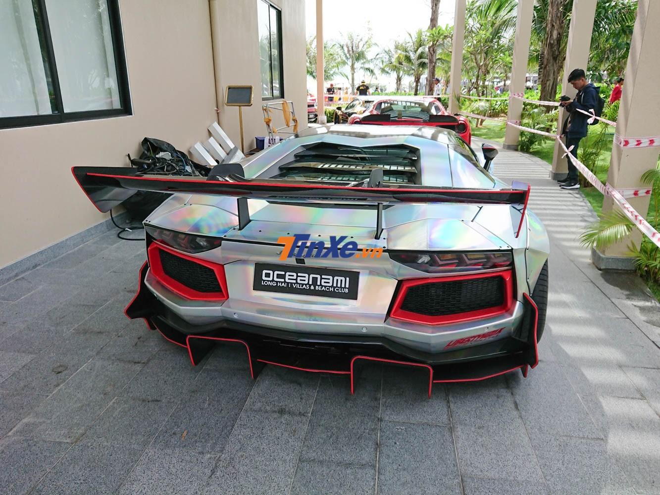 Chiếc Lamborghini Aventador Limited Edition 50 độ không dưới 3 tỷ đồng