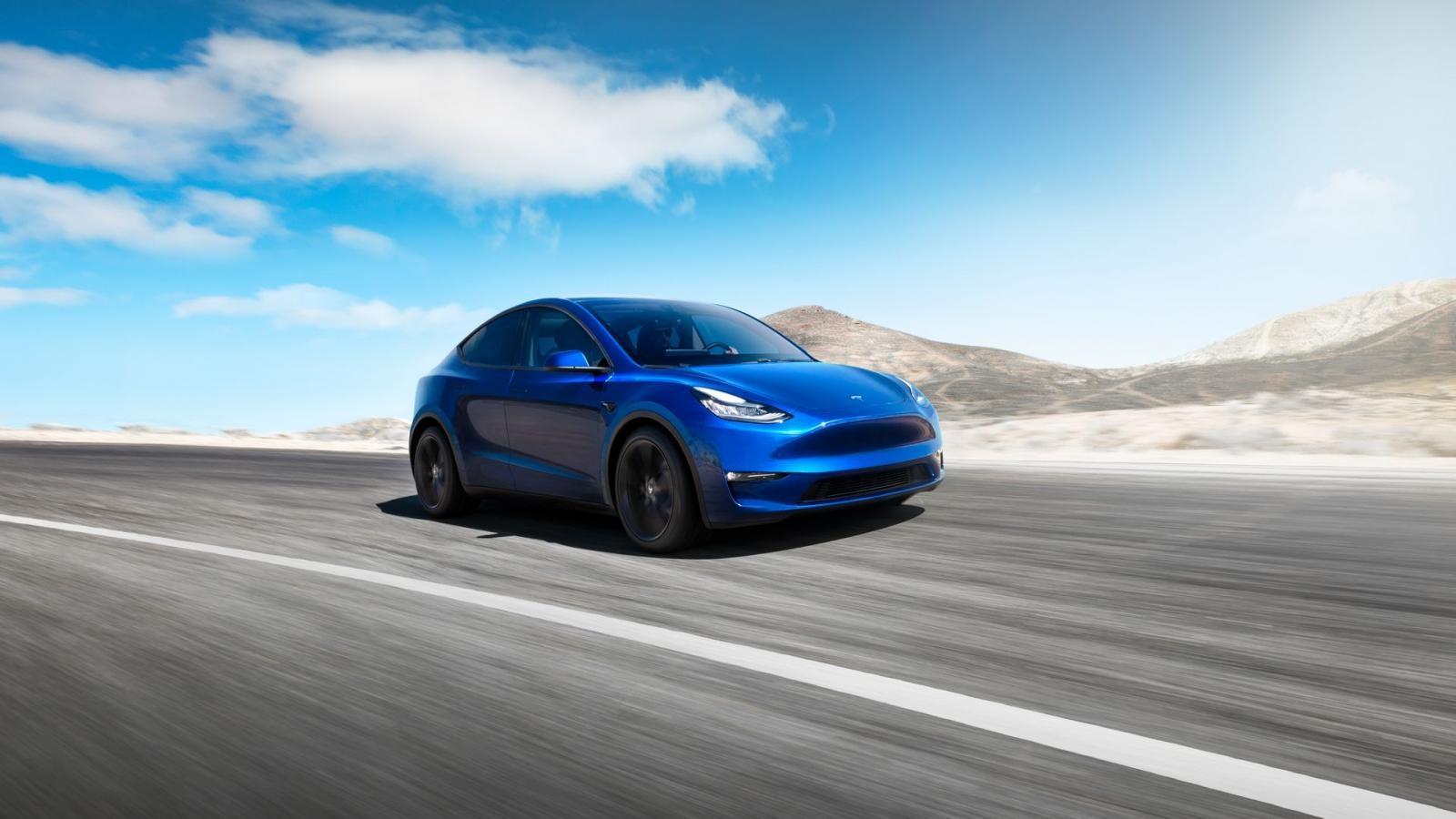 Tesla Model Y chính thức ra mắt