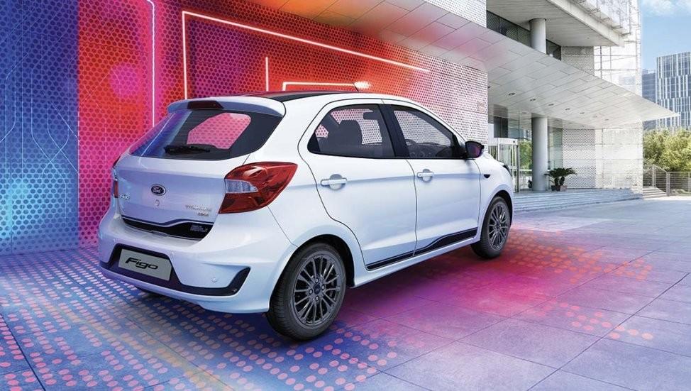 Thiết kế đằng sau của Ford Figo 2019