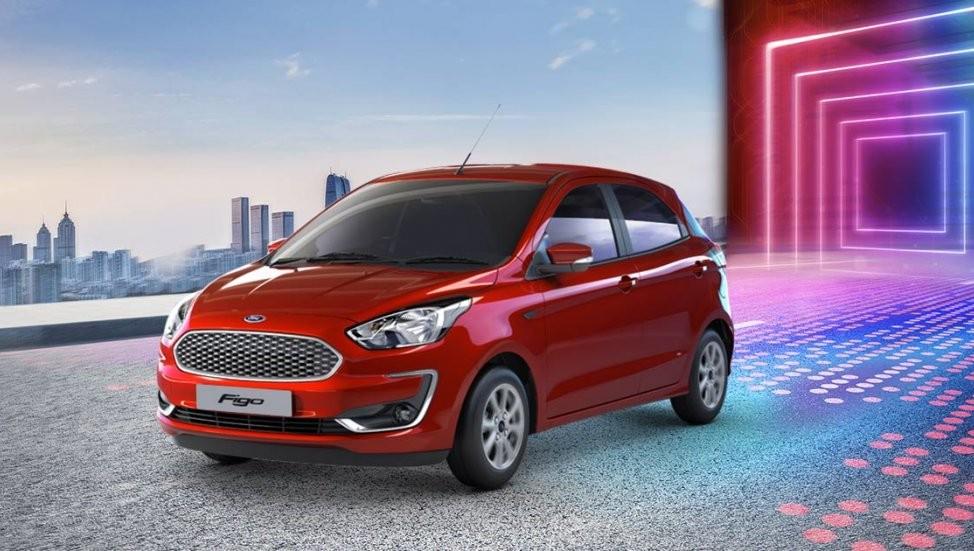 Ford Figo 2019 được trang bị đầu xe mới