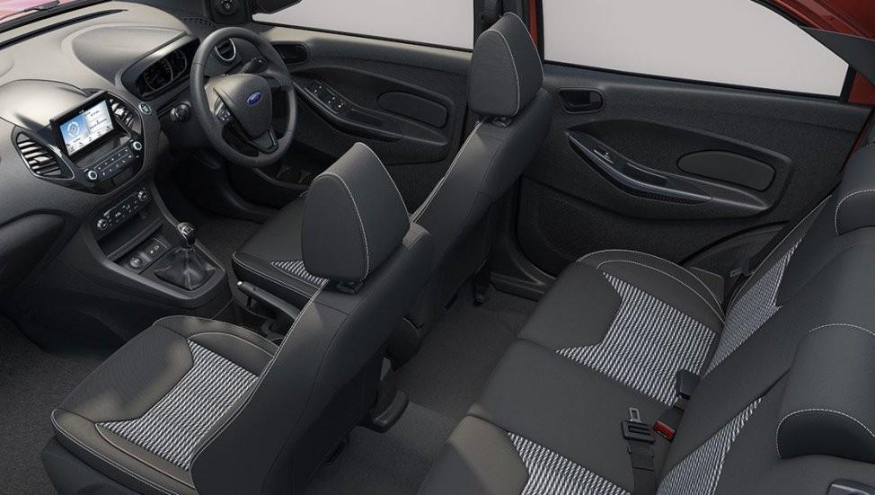 Nội thất của Ford Figo 2019 bản thường