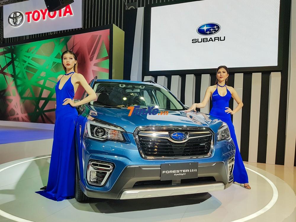 Subaru Forester 2019 ra mắt trong triển lãm Ô tô Việt Nam 2018