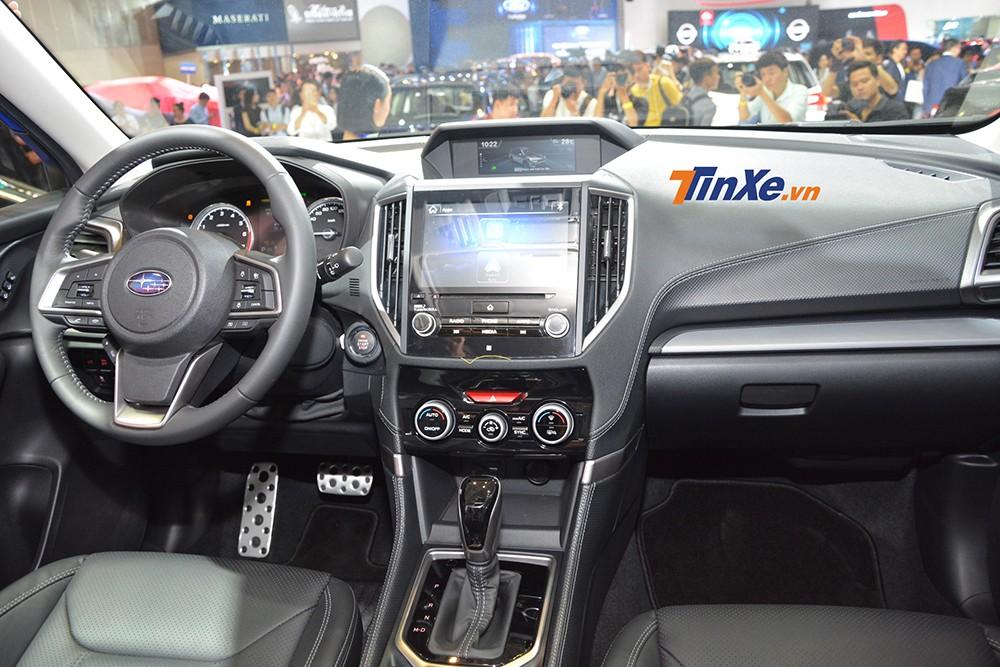 Subaru Forester 2019 tại Việt Nam cũng có công nghệ an toàn EyeSight