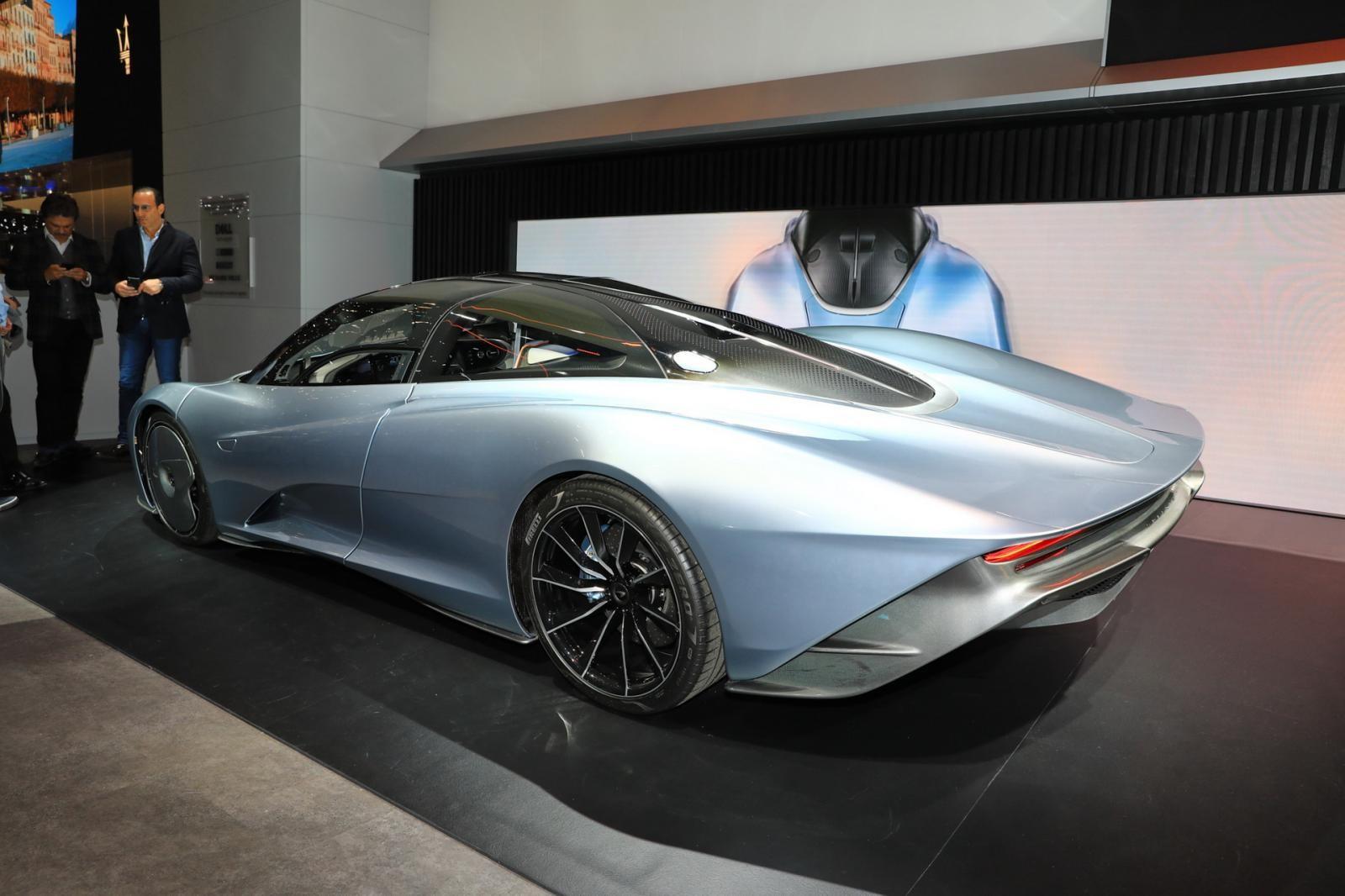 McLaren Speedtail sở hữu công suất tối đa 1.035 mã lực