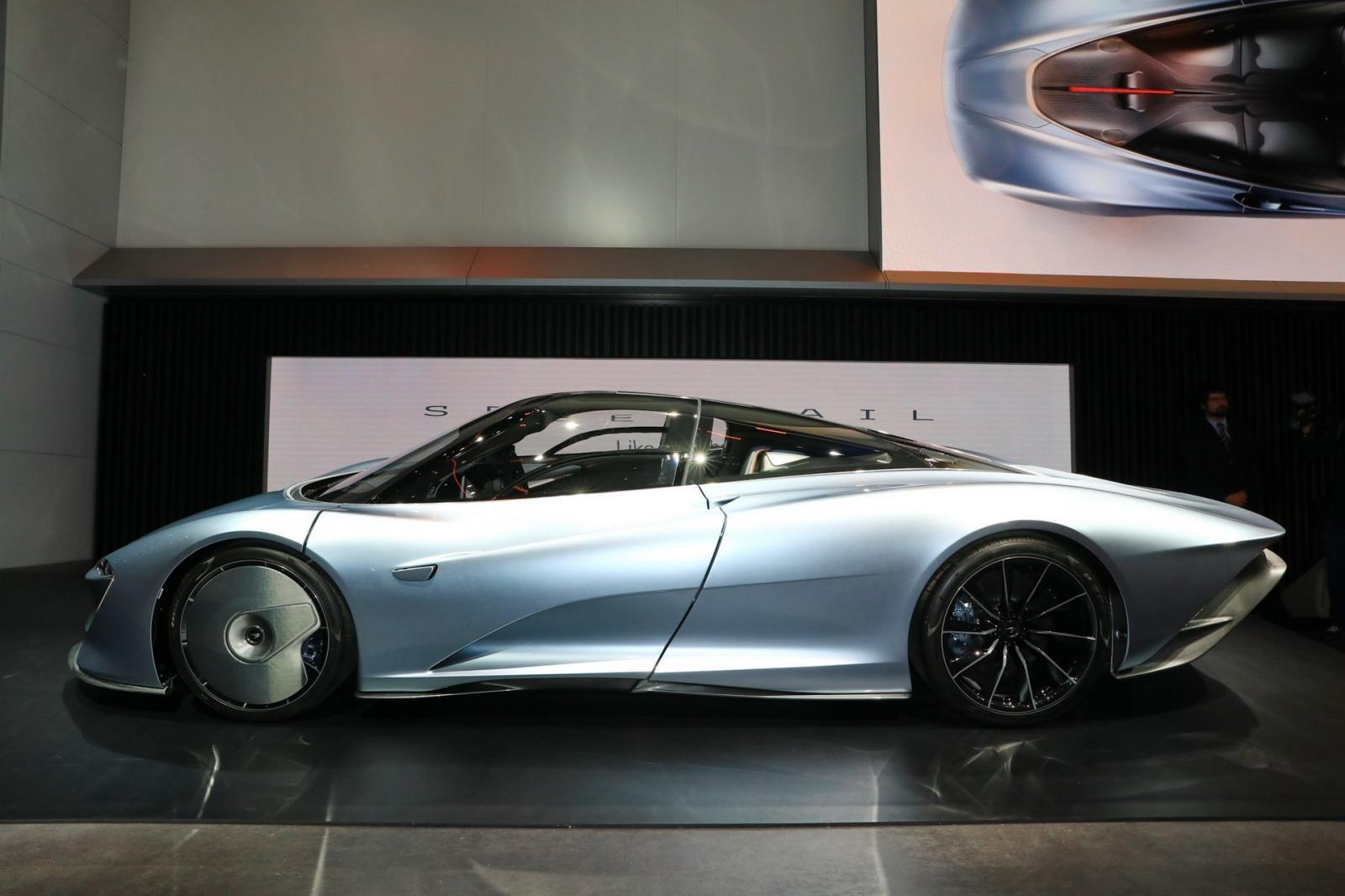 Thiết kế ngoại thất của McLaren Speedtail bị nhiều cư dân mạng chê bai