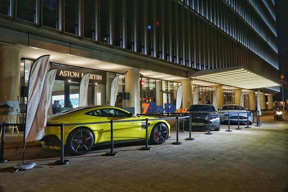 3 chiếc siêu xe tại buổi lễ ra mắt đại lý chính hãng Aston Martin Việt Nam