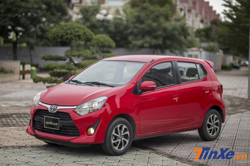 Đuối sức trong cuộc đua doanh số cùng các đối thủ ở tháng 2/2019, sang tháng 3 Toyota Wigo được giảm giá trực tiếp tại một số đại lý