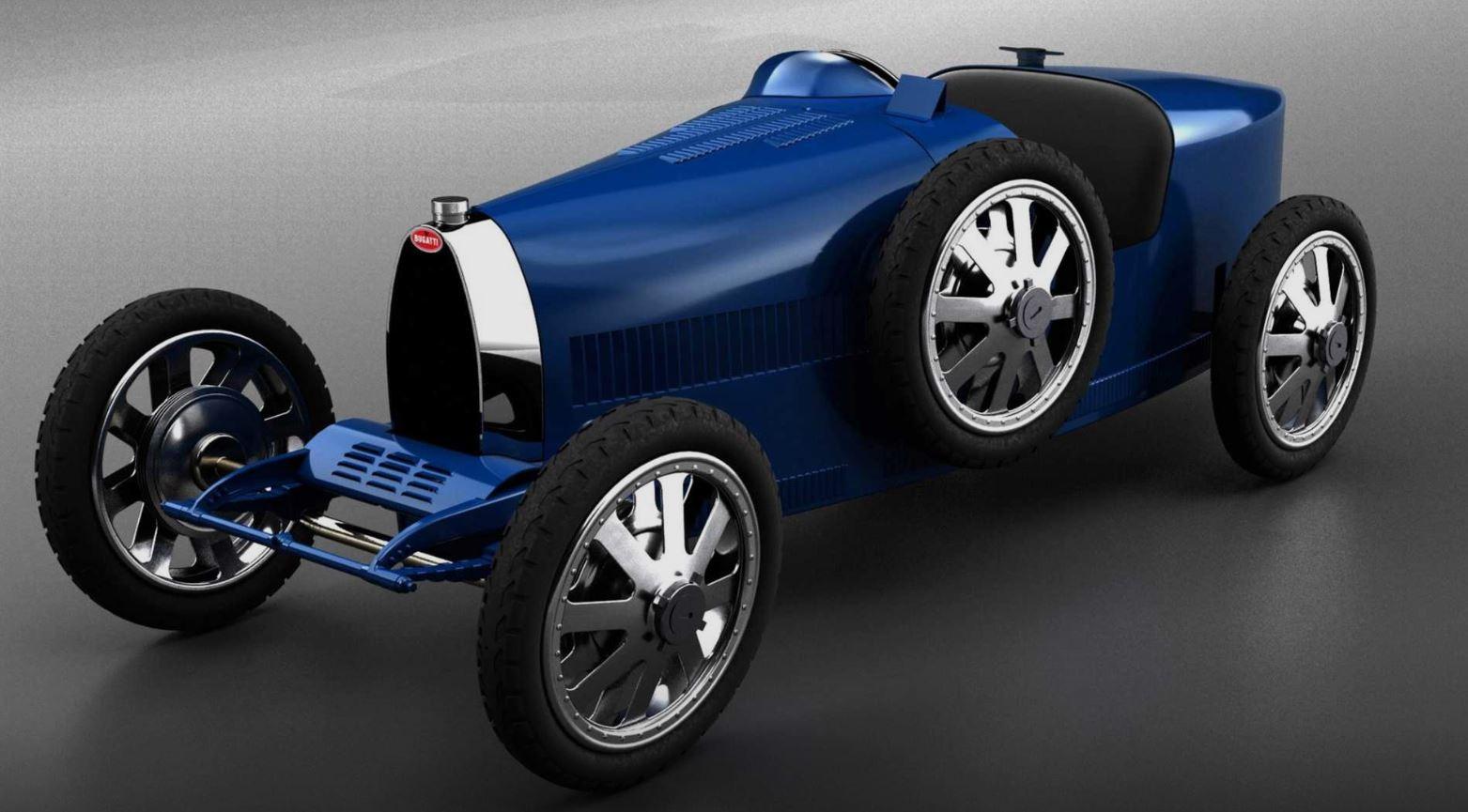 Baby II - Mẫu xe nhỏ con nhất, giá rẻ nhất của Bugatti