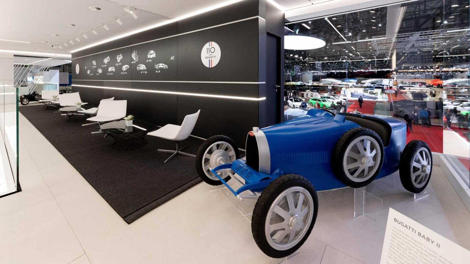 Bugatti Baby II trưng bày ở Triển lãm Ô tô Geneva 2019