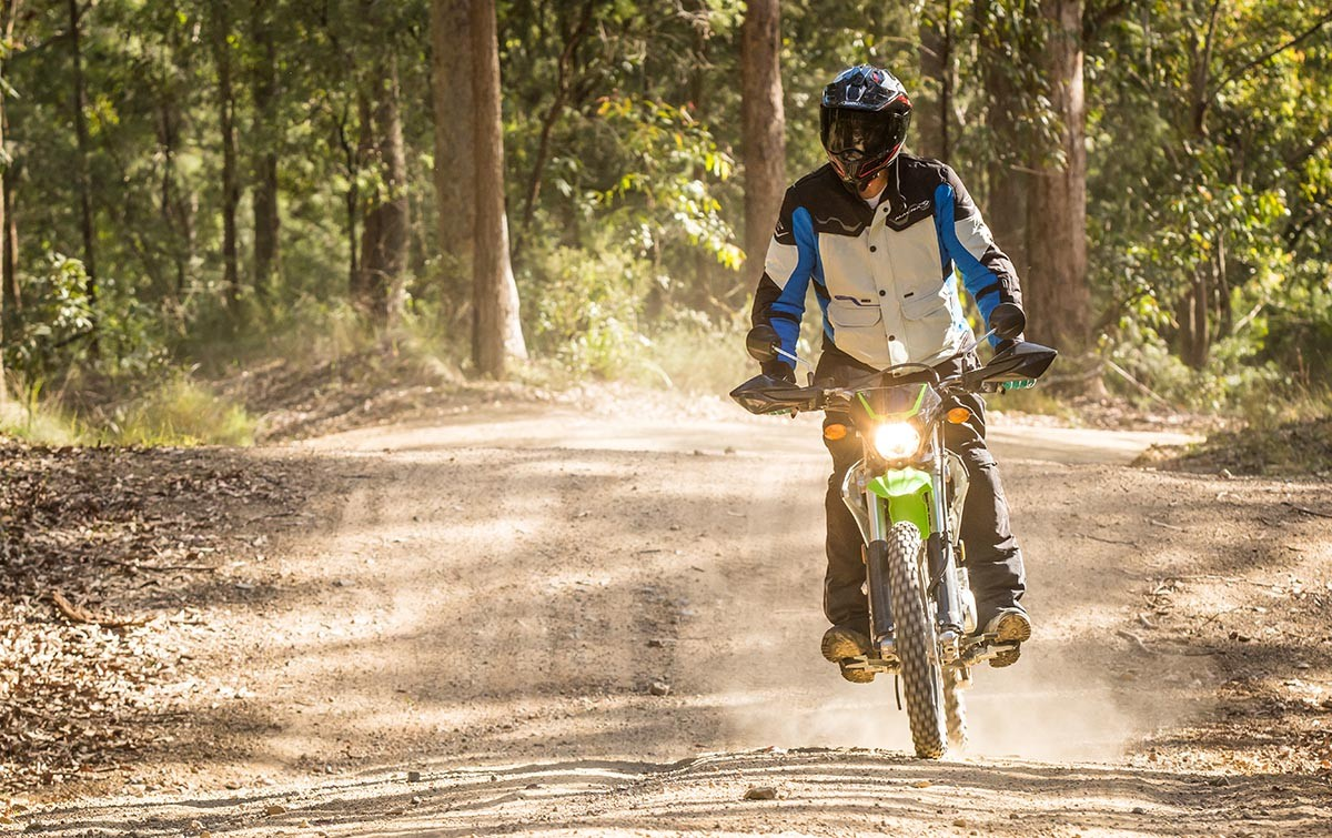 Kawasaki KLX150 is equivalent to 53.5 million in Indonesia