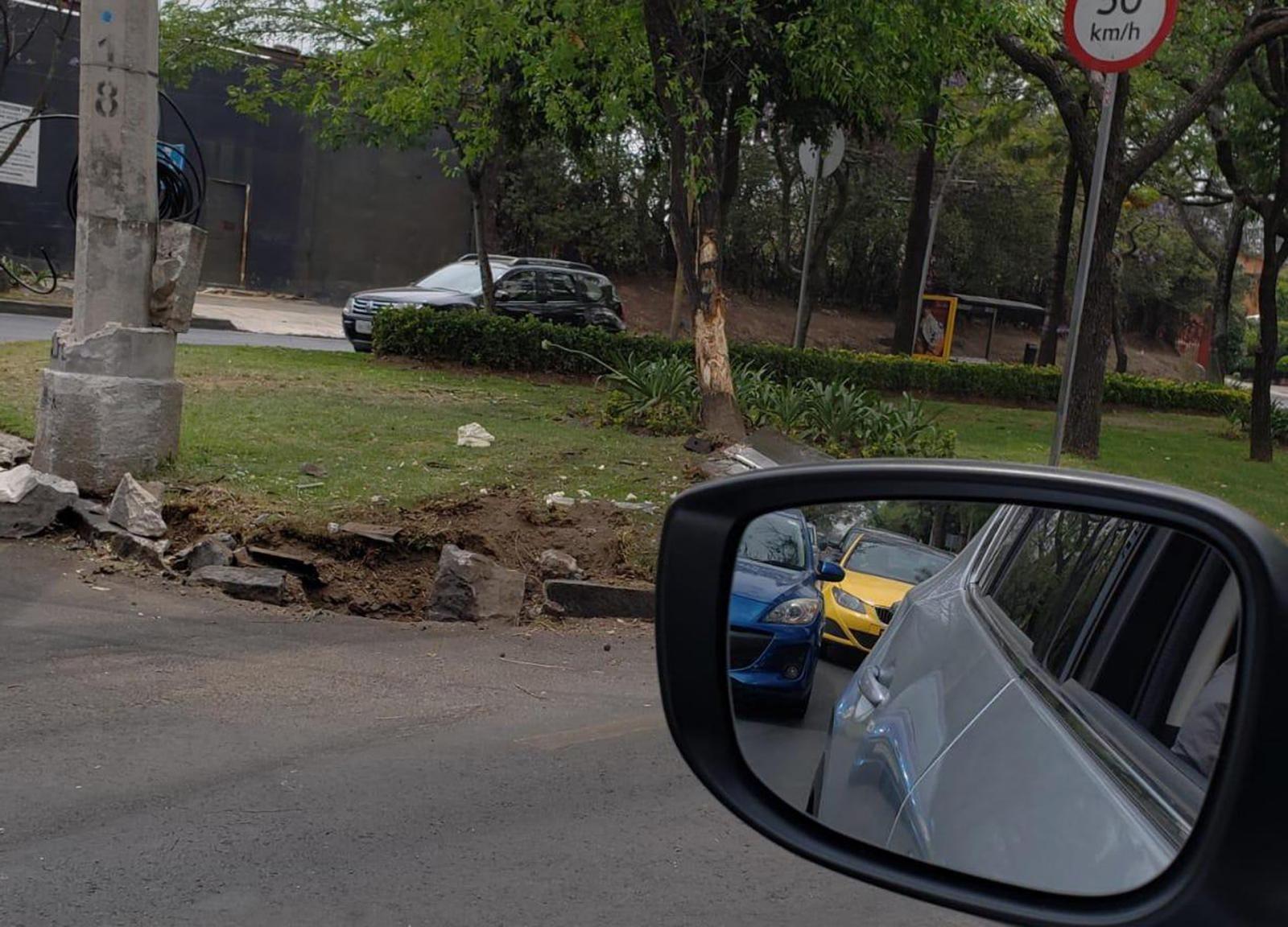 Đoạn đường nơi vụ tai nạn của chiếc Koenigsegg CCXR xảy ra