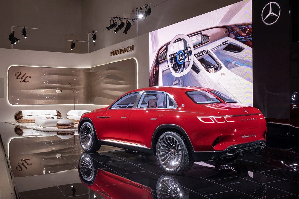 Vision Mercedes-Maybach Ultimate Luxury lai giữa SUV và sedan