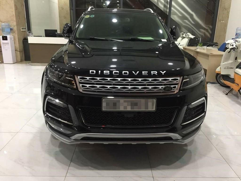 Cũng có người chơi Zotye T600 độ theo phong cách Land Rover với logo Discovery, lưới tản nhiệt kiểu Range Rover Evoque